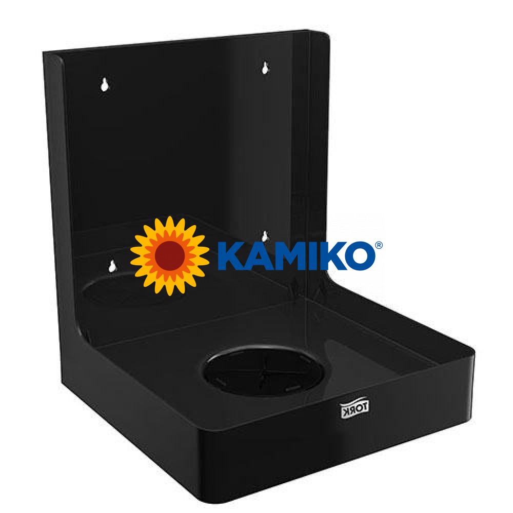 Nástenný držiak rolí TORK BOX, čierny