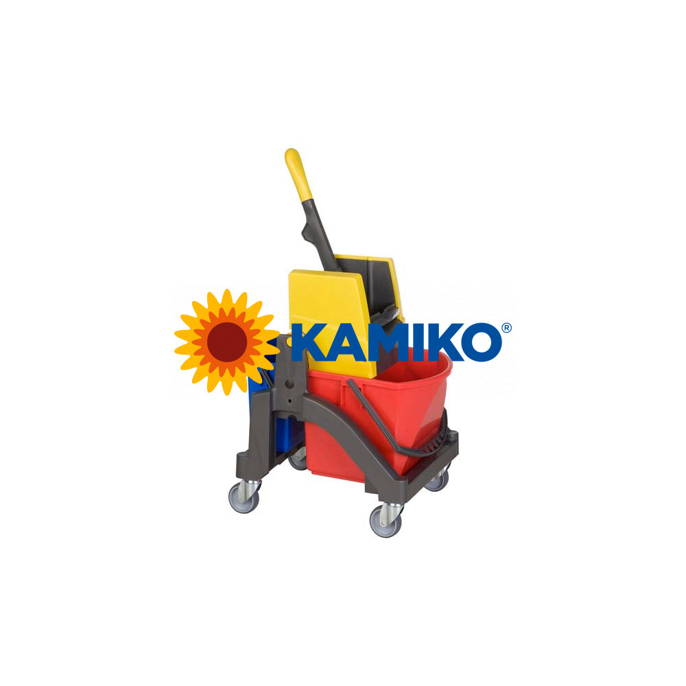 Upratovací vozík Vermop  AQUVA 1 x 17 l + 1 x 6 l