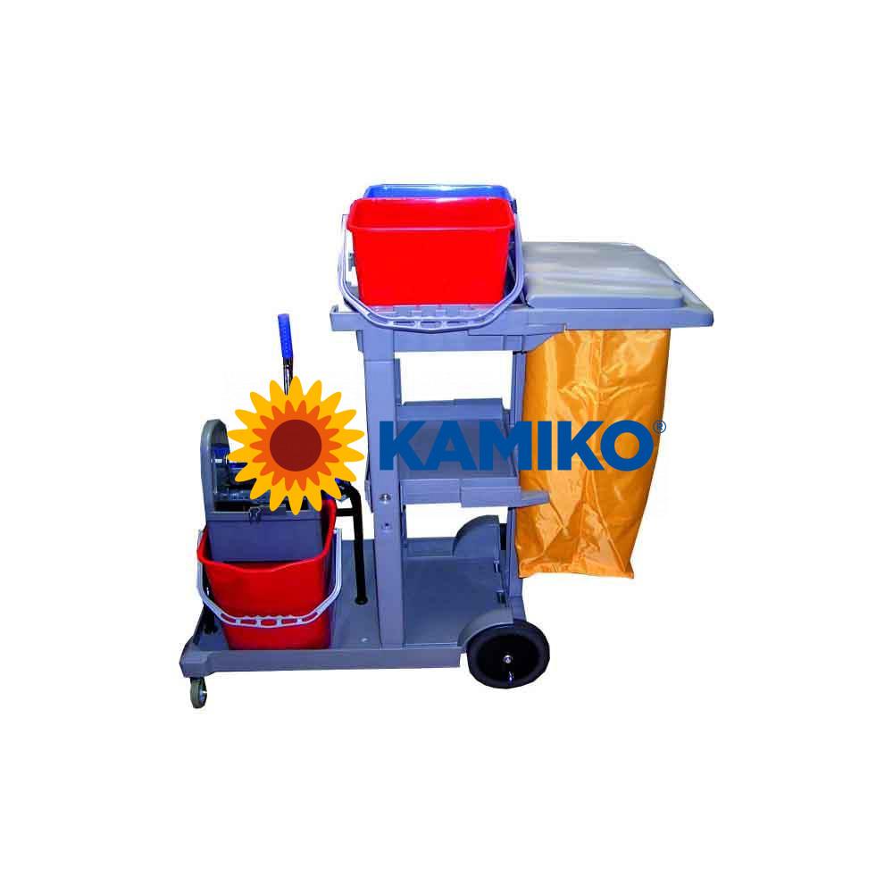 Upratovací vozík KOMBI s vakom economic