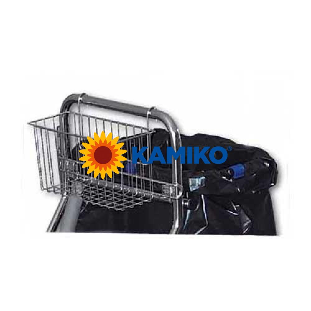 Košík pre upratovacie vozíky CLAROL PLUS - na rukoväť, chrómový
