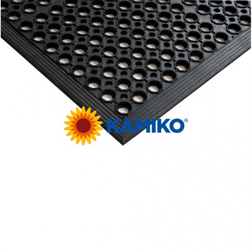 Exteriérová rohož SANITOP 91 x 152 cm, čierna