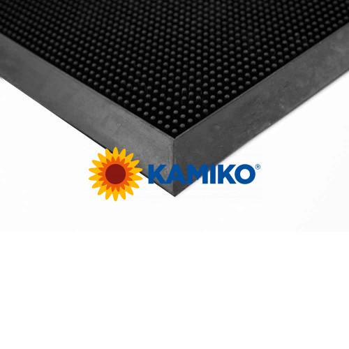 Exteriérová rohož FINGERTIP 60 x 80 cm, čierna