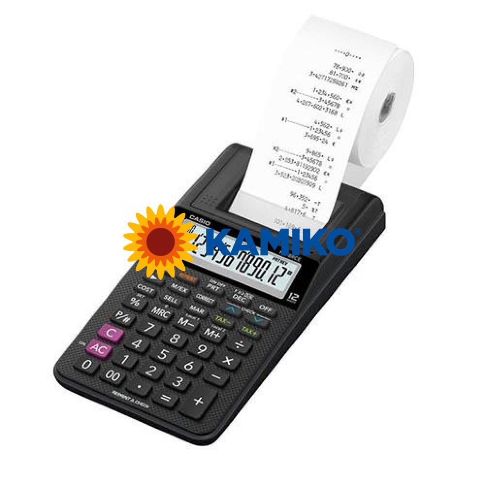 Kalkulačka Casio HR-8RCE+tlač