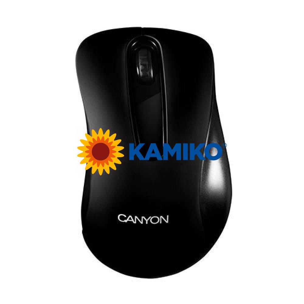 Optická myš Canyon CNE-CMS2 USB čierna