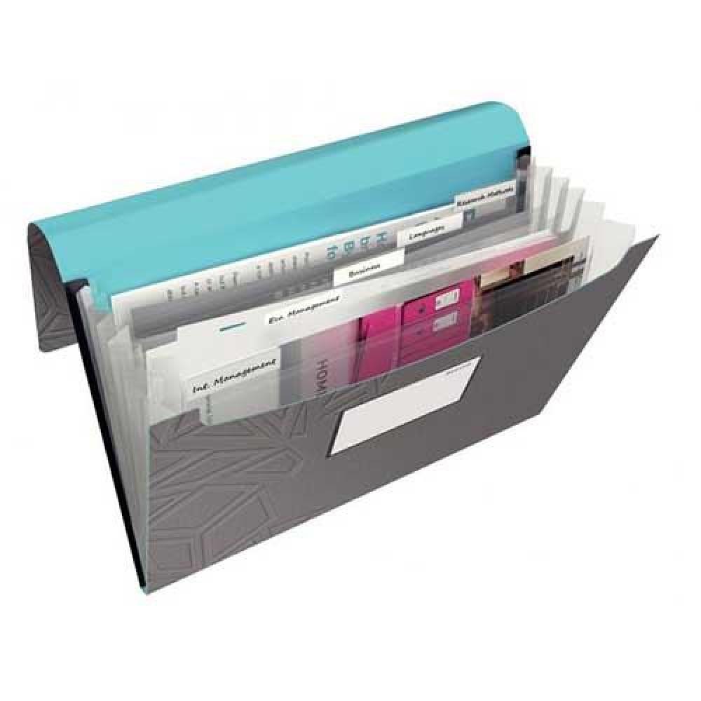 Plastový box s gumičkou Leitz Urban Chic sivý