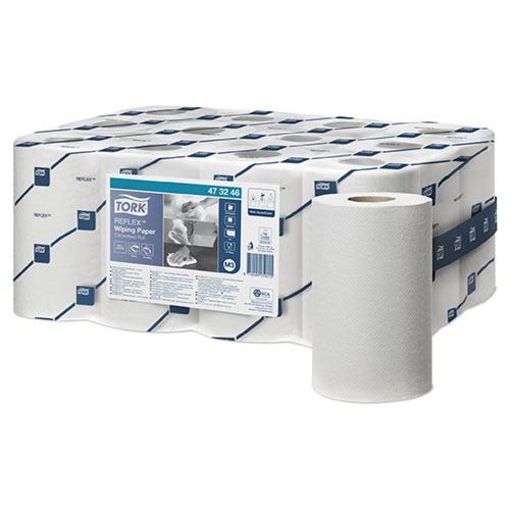 Papierová rolka 1vr TORK MINI REFLEX 120m, biela