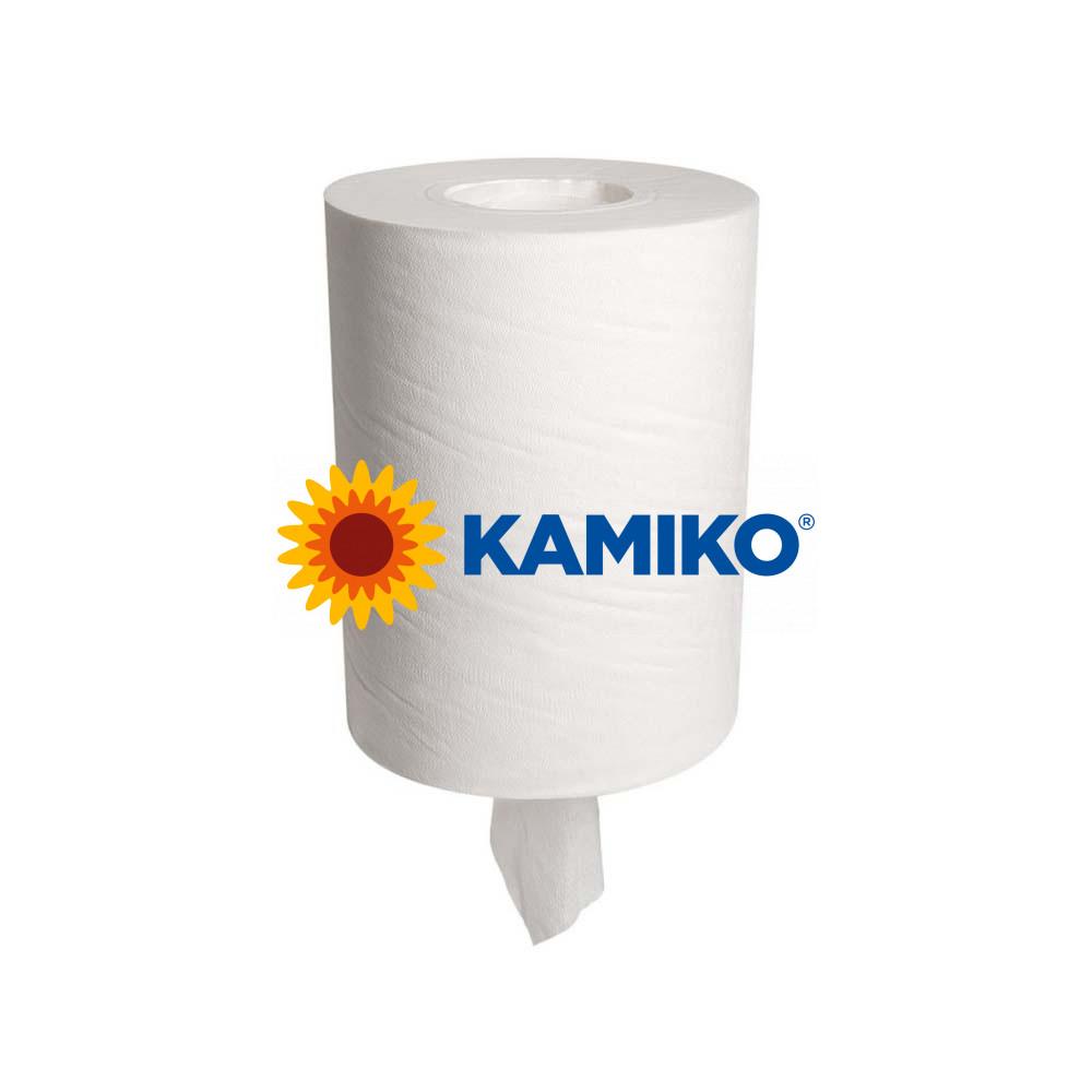 Papierová rolka 1vr KAMIKO MINI Centerfeed 120 m, biela