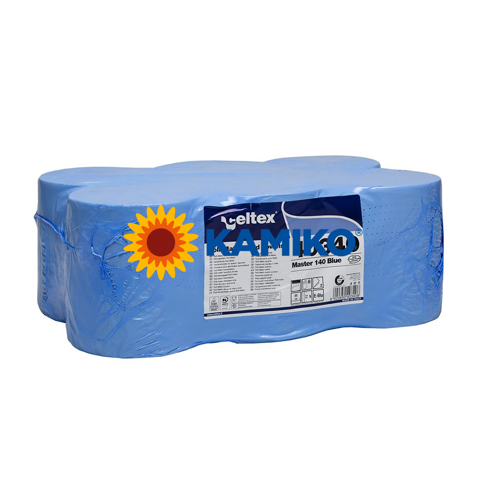 Papierová rolka 2vr CELTEX MASTER BLUE 140 m, modrá