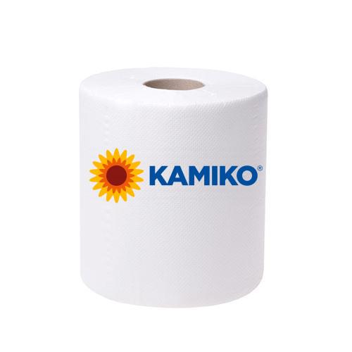 Papierová rolka 1vr KAMIKO MAXI Centerfeed 300m, biela