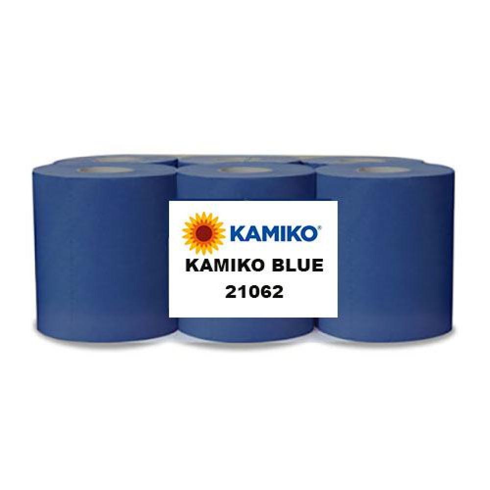 Papierová rolka 2vr KAMIKO MAXI BLUE 170m, modrá