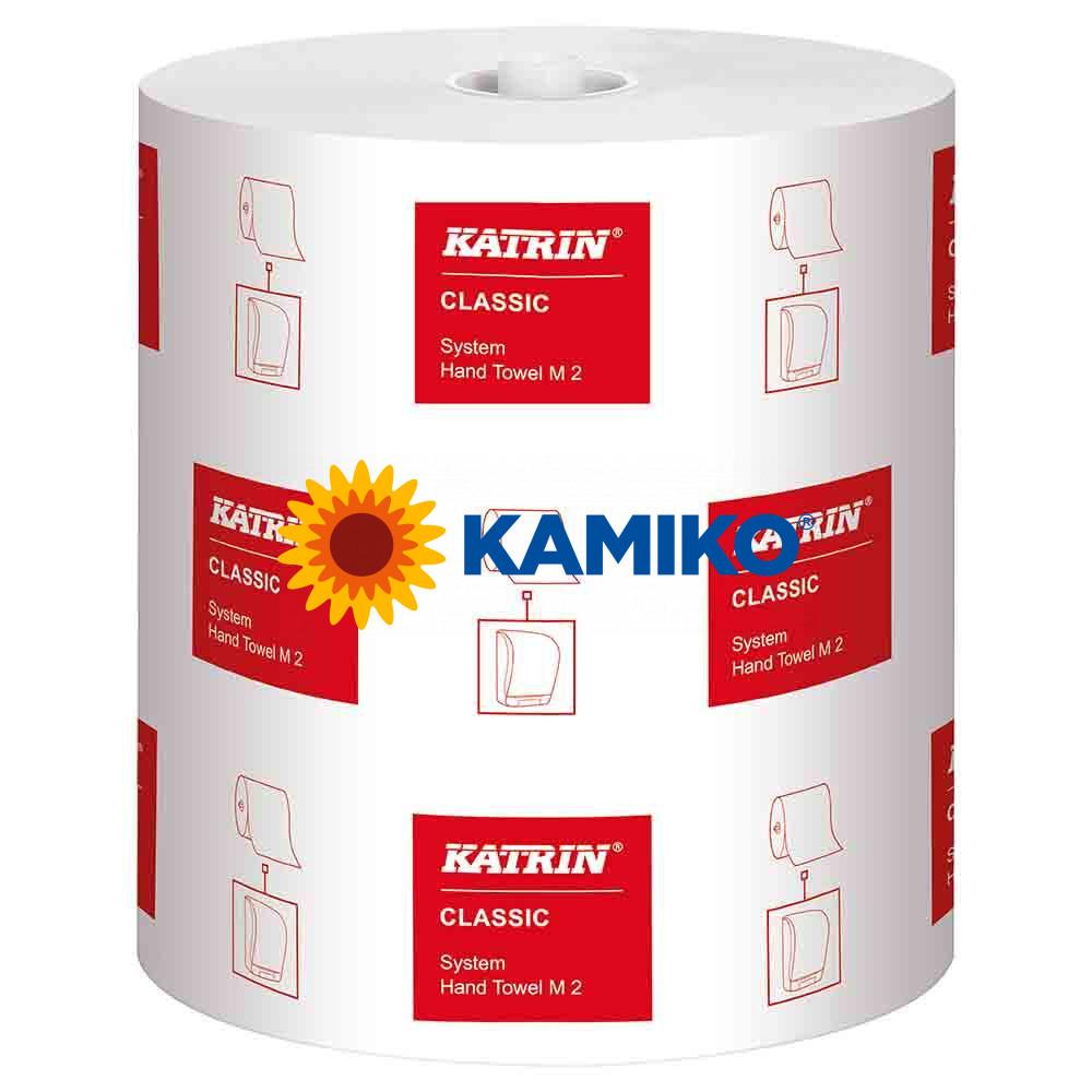 Papierová rolka 2vr KATRIN SYSTEM CLASIC 160m, biela