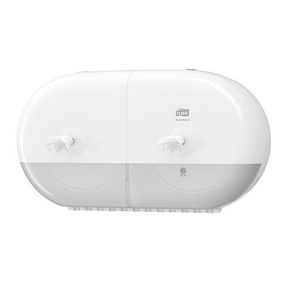Zásobník toaletného papiera TORK SMART ONE Twin mini, biely