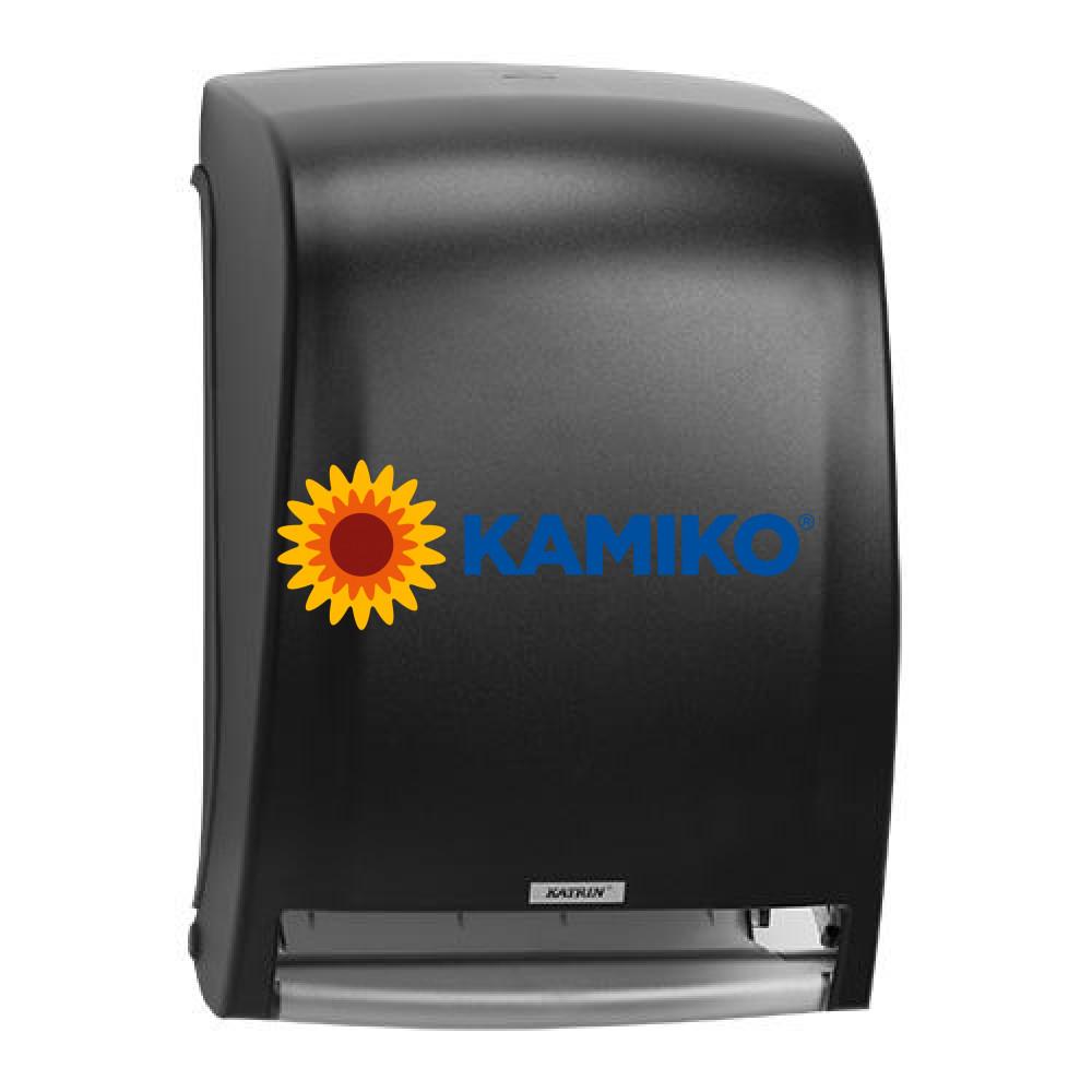 Zásobník papierových roliek KATRIN SYSTEM senzorový čierny