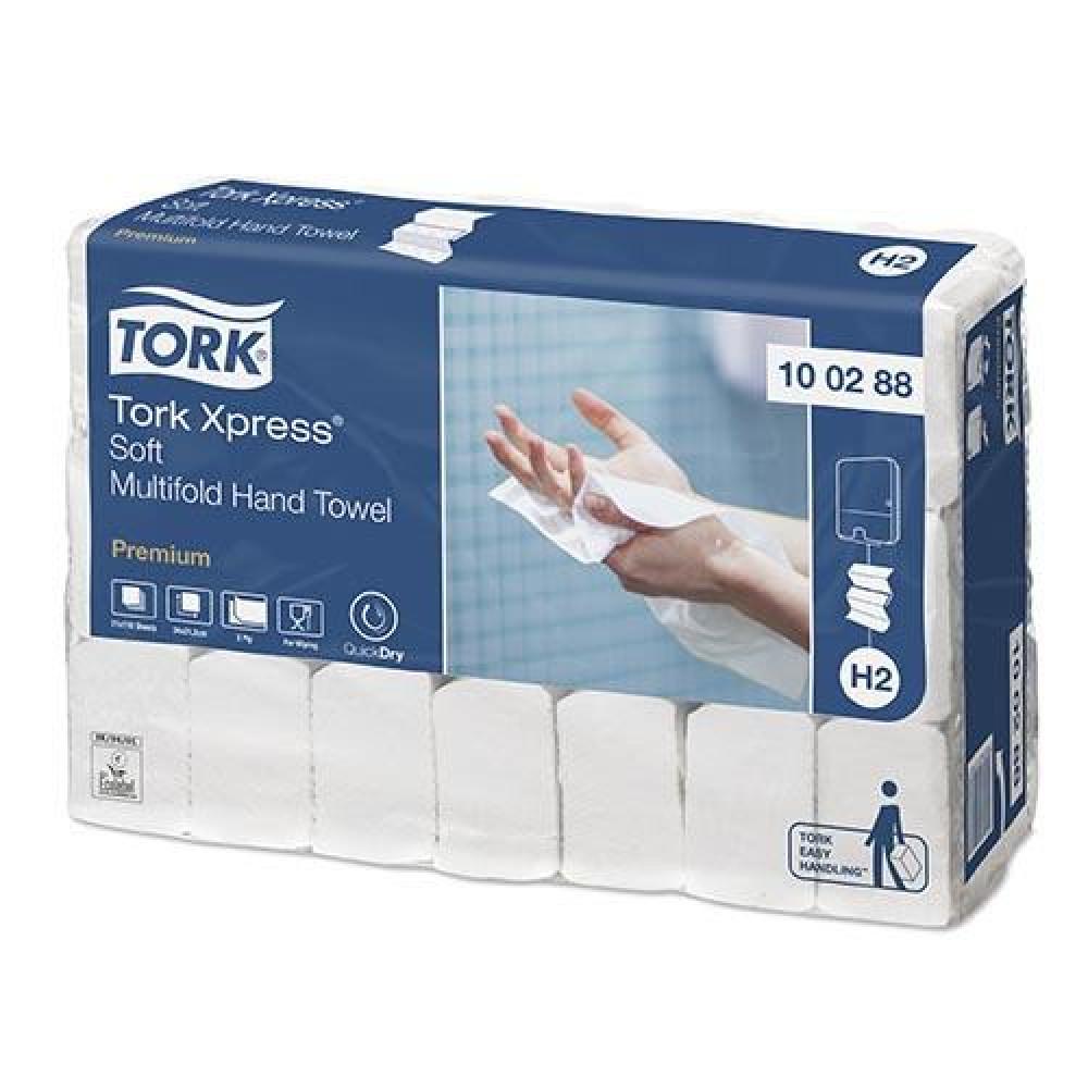 Uteráky skladané 2vr TORK M SOFT PREMIUM biele