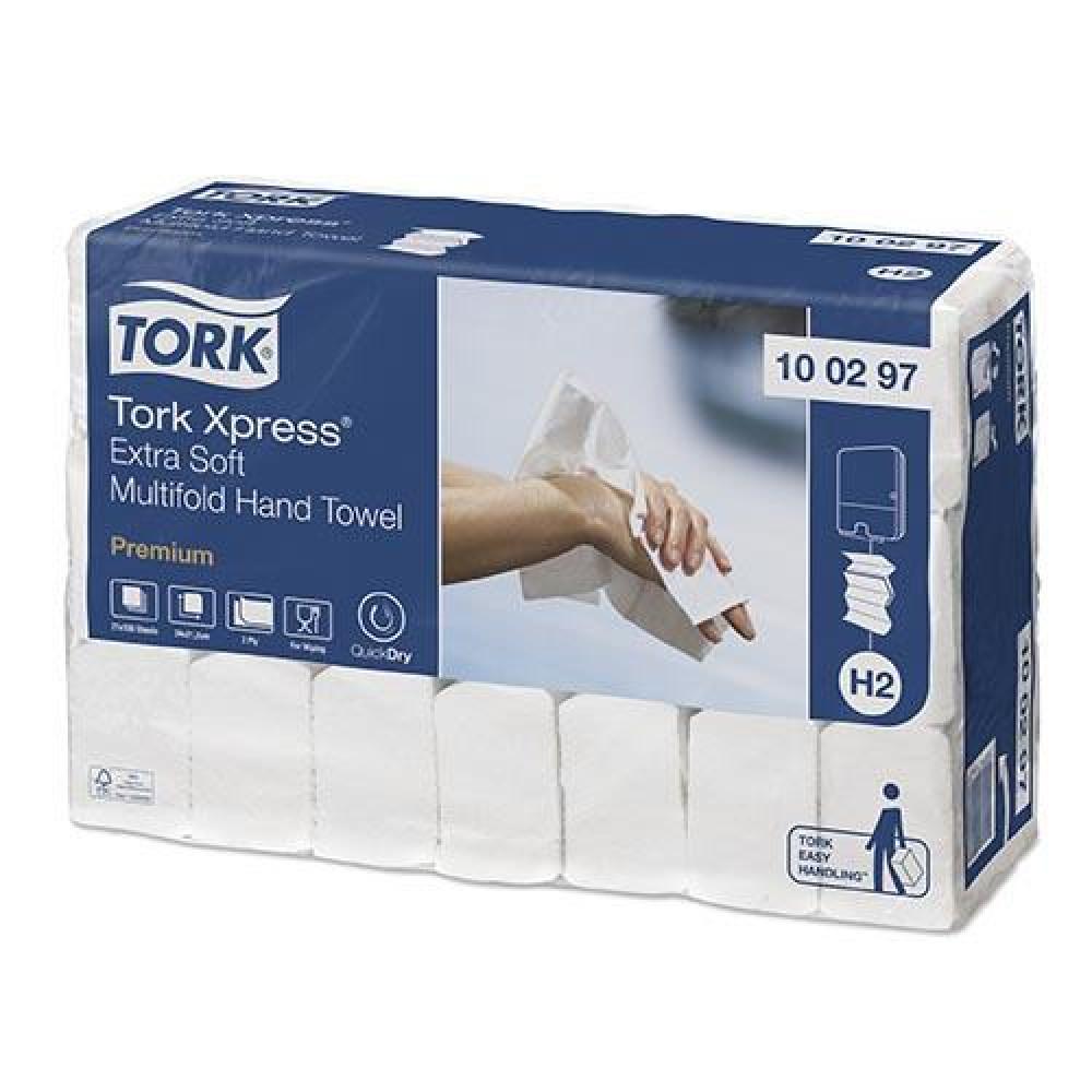 Uteráky skladané 2vr TORK M EXTRA SOFT PREMIUM biele
