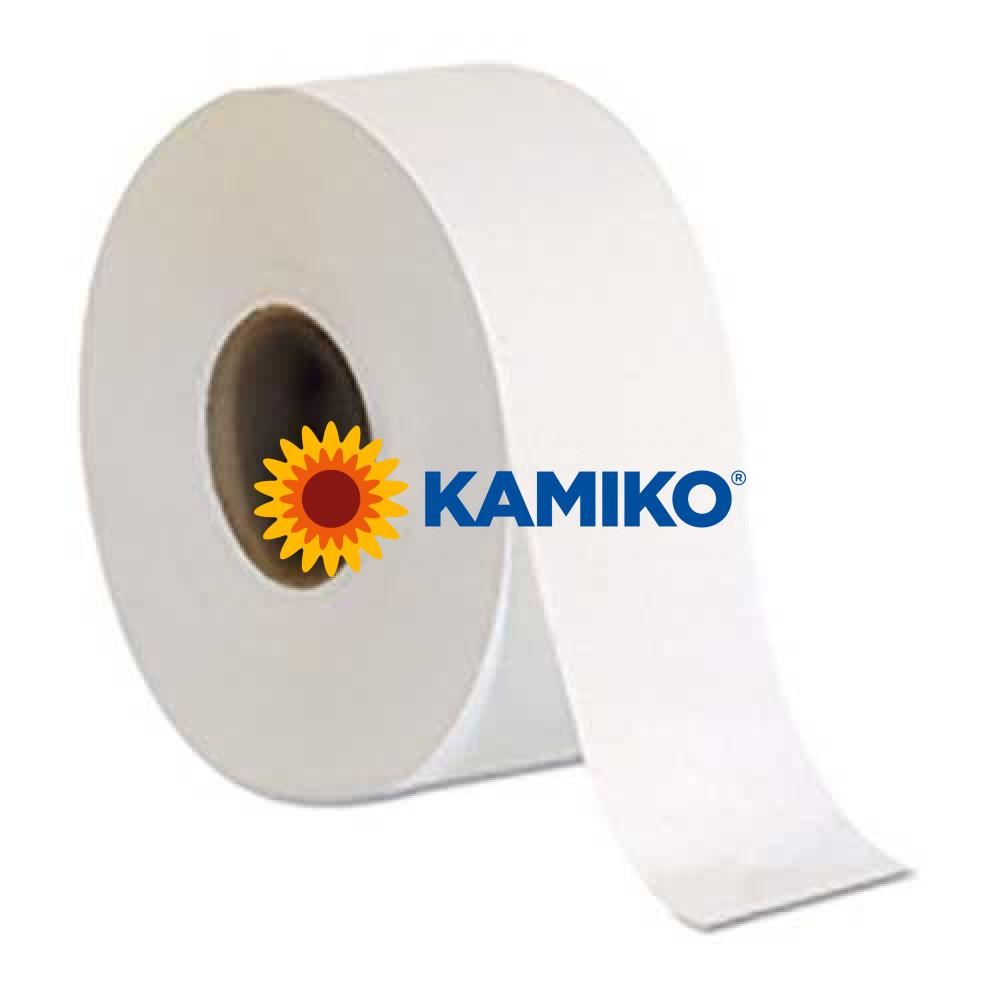Toaletný papier 2vr Jumbo KAMIKO EKO 19 cm, biely