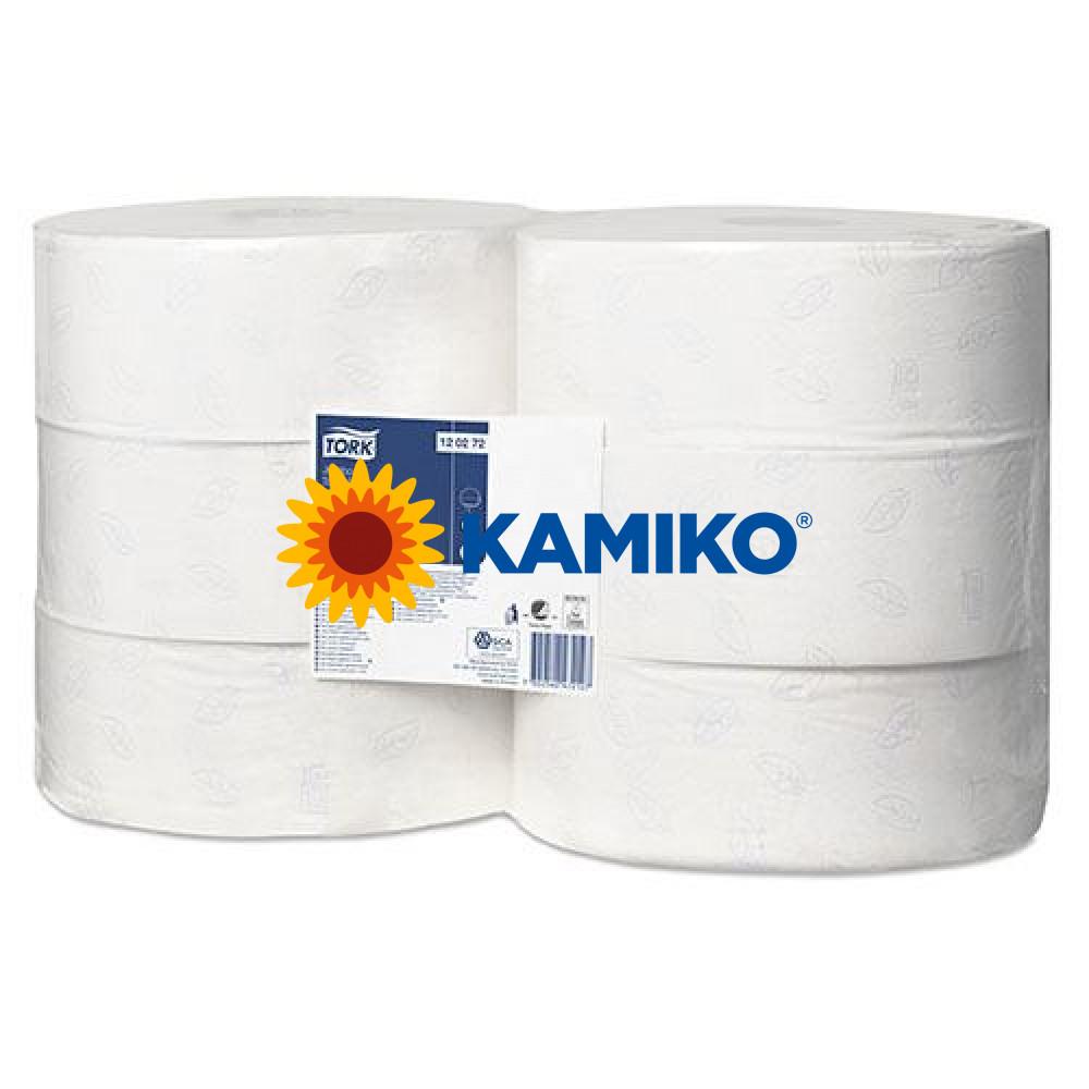Toaletný papier 2vr Jumbo TORK 26 cm, biely, advanced