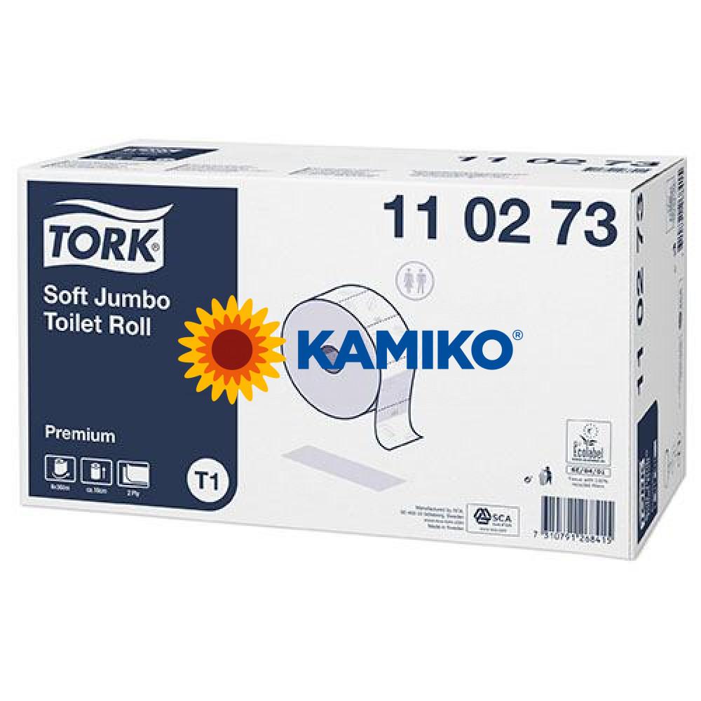 Toaletný papier 2vr Jumbo TORK 26 cm, biely, premium