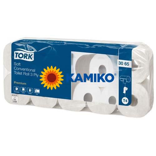 Toaletný papier 3vr TORK Soft 19m, biely