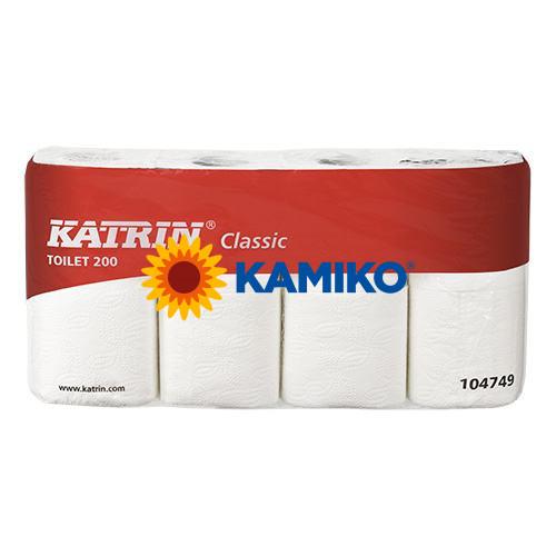 Toaletný papier 2vr KATRIN Classic 24m, biely