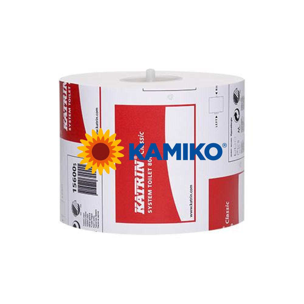 Toaletný papier 2vr KATRIN SYSTEM Classic 96m, biely