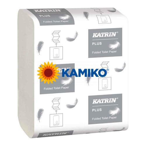 Toaletný papier skladaný 2vr. KATRIN Bulk 10 000 ks