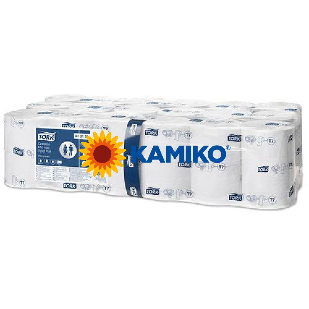 Toaletný papier 2vr TORK Coreless Mid-size advanced 112m, biely