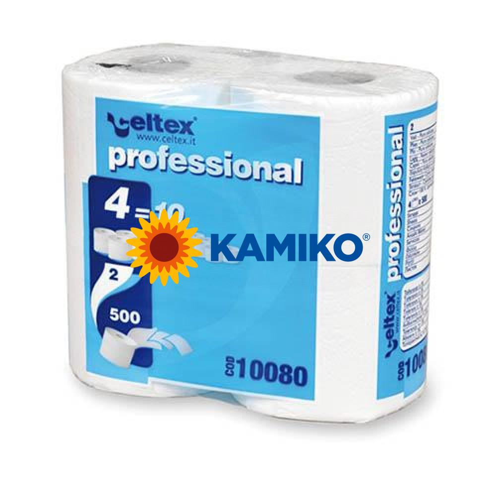 Toaletný papier 2vr CELTEX Compact 55m, biela celulóza