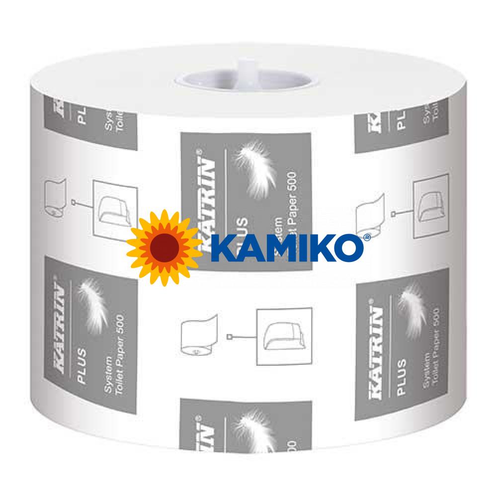 Toaletný papier 3vr KATRIN SYSTEM Plus 60m, biela celulóza