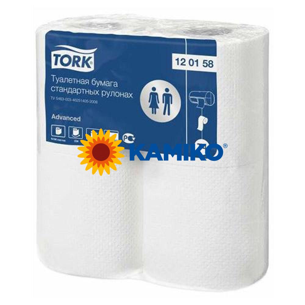 Toaletný papier 2vr TORK Premium 23m, biely