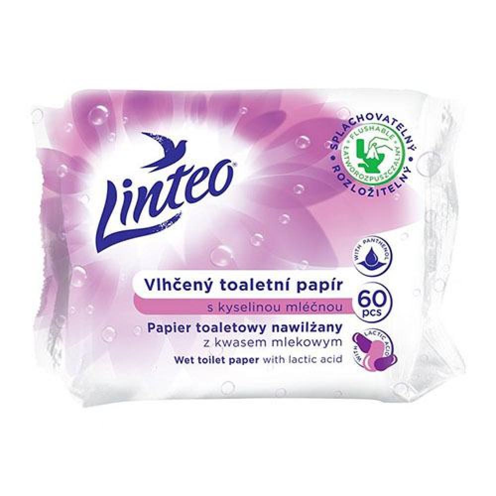 Toaletný papier vlhčený LINTEO kyselina mliečna