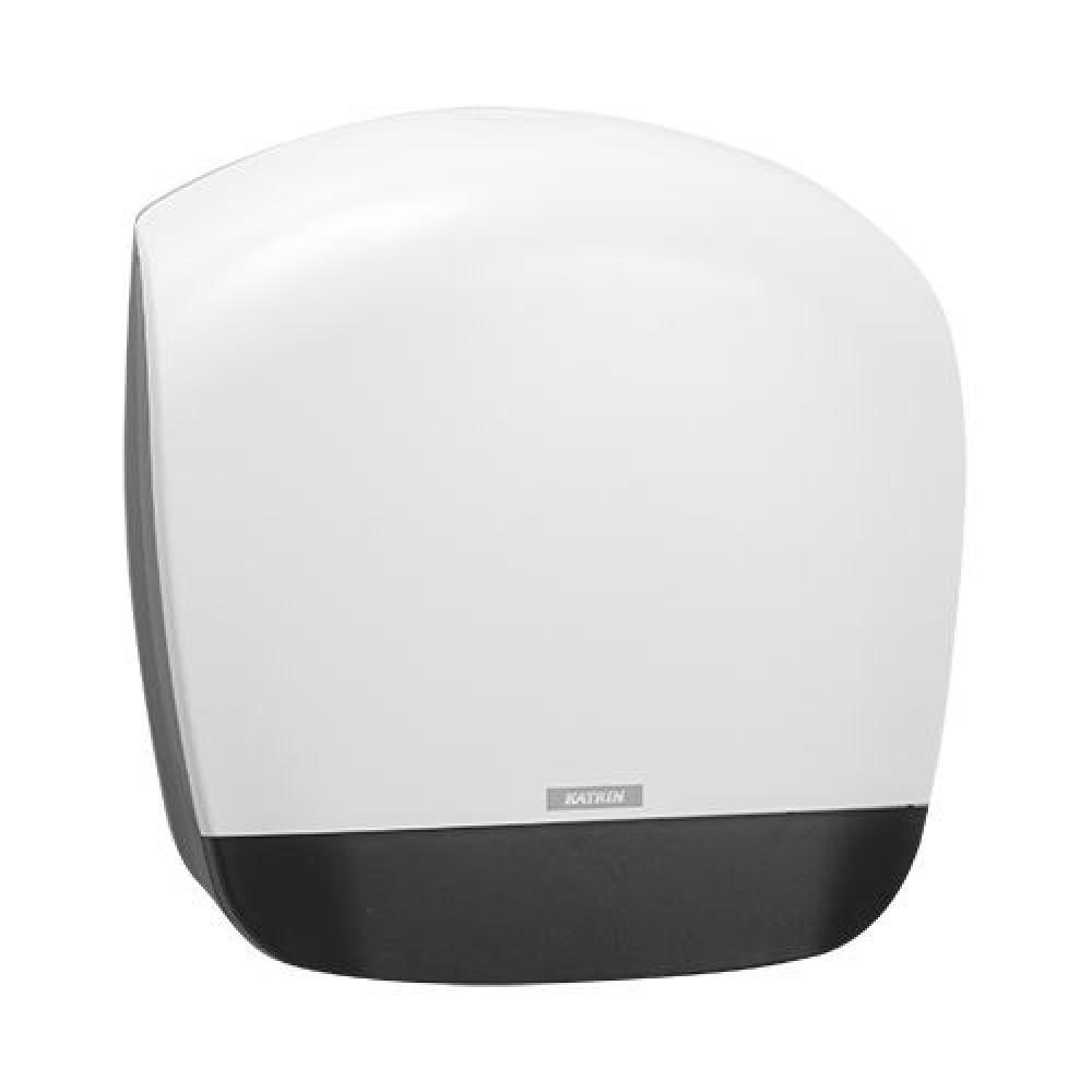 Zásobník toaletného papiera KATRIN Jumbo 19 cm, biely