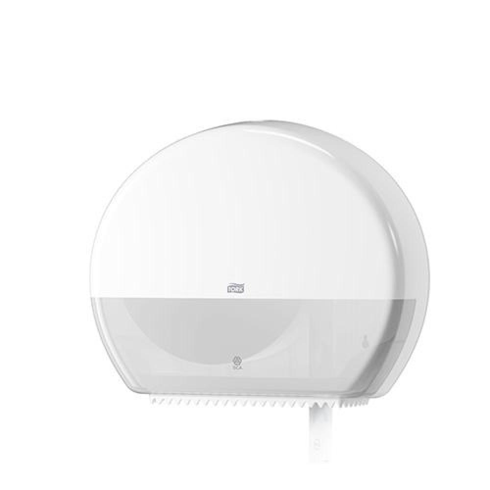 Zásobník toaletného papiera TORK Jumbo 26 cm, biely
