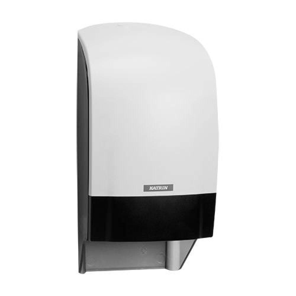 Zásobník toaletného papiera KATRIN SYSTEM, biely