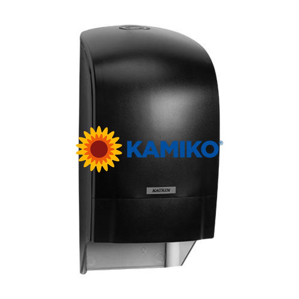 Zásobník toaletného papiera KATRIN SYSTEM, čierny