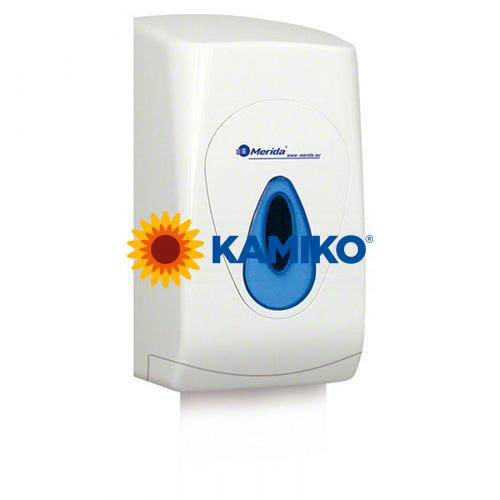 Zásobník skladaného toaletného papiera MERIDA, biely
