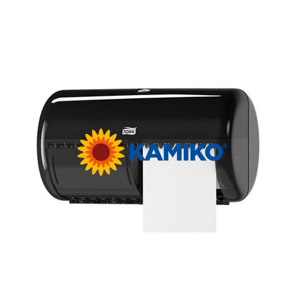 Zásobník toaletného papiera TORK 2 roll, čierny