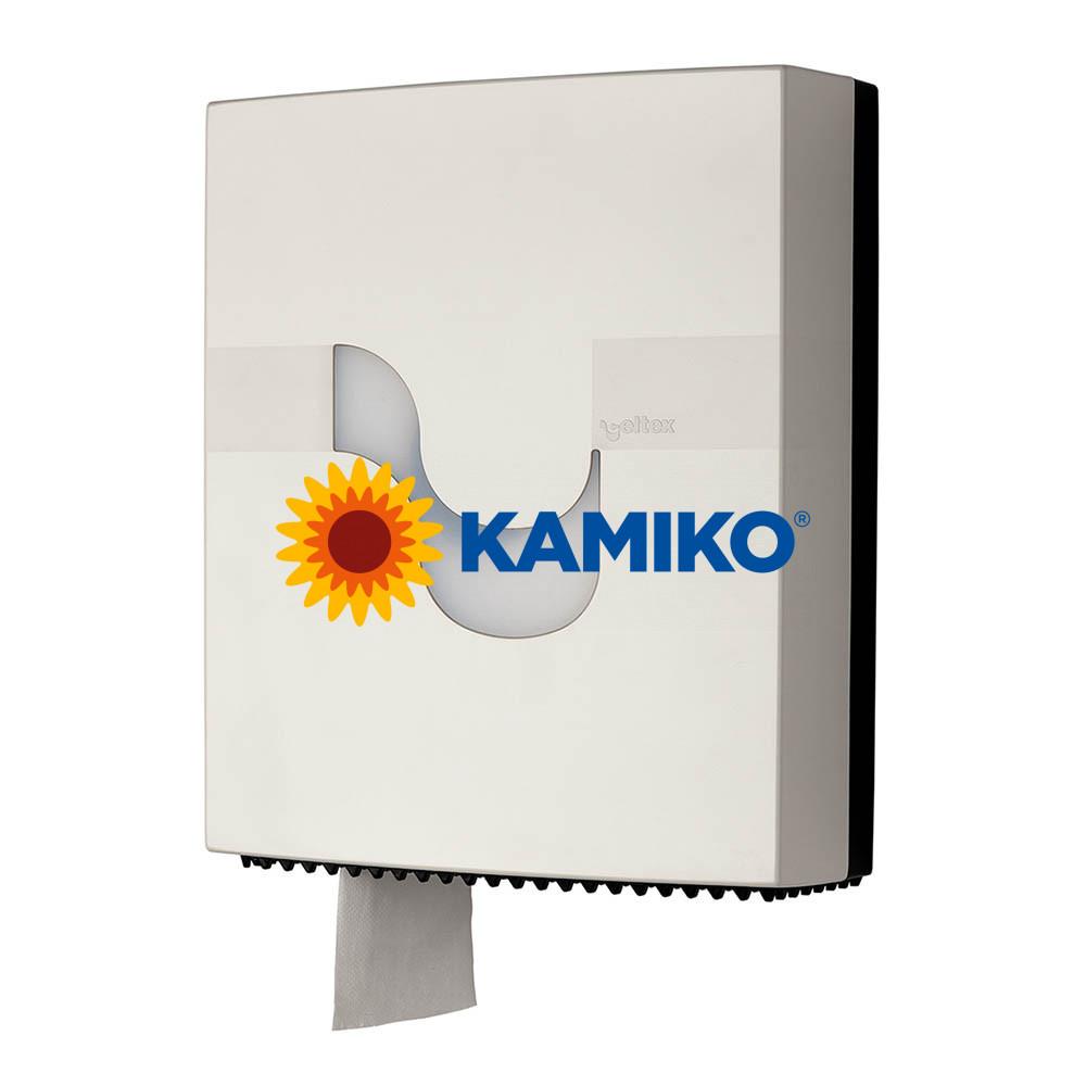 Zásobník toaletného papiera CELTEX  Jumbo 26 cm, biely