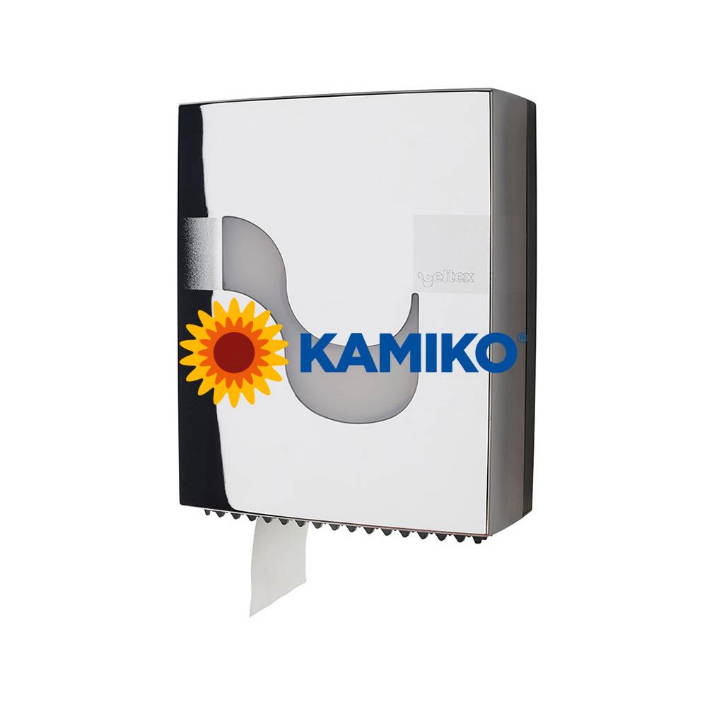 Zásobník toaletného papiera CELTEX  Jumbo 19 cm, chrómový