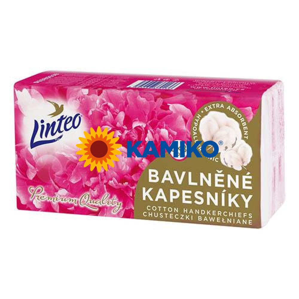 Bavlnené vreckovky Linteo Premium 6x8 ks