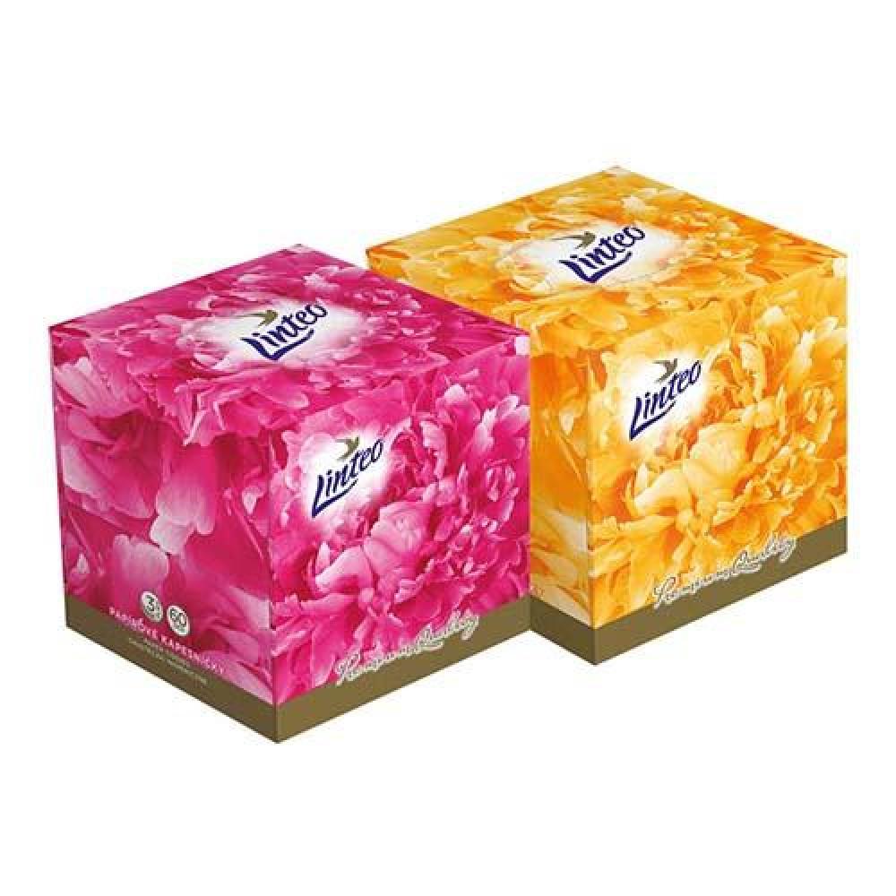 LINTEO BOX Elite papierove vreckovky 60 ks