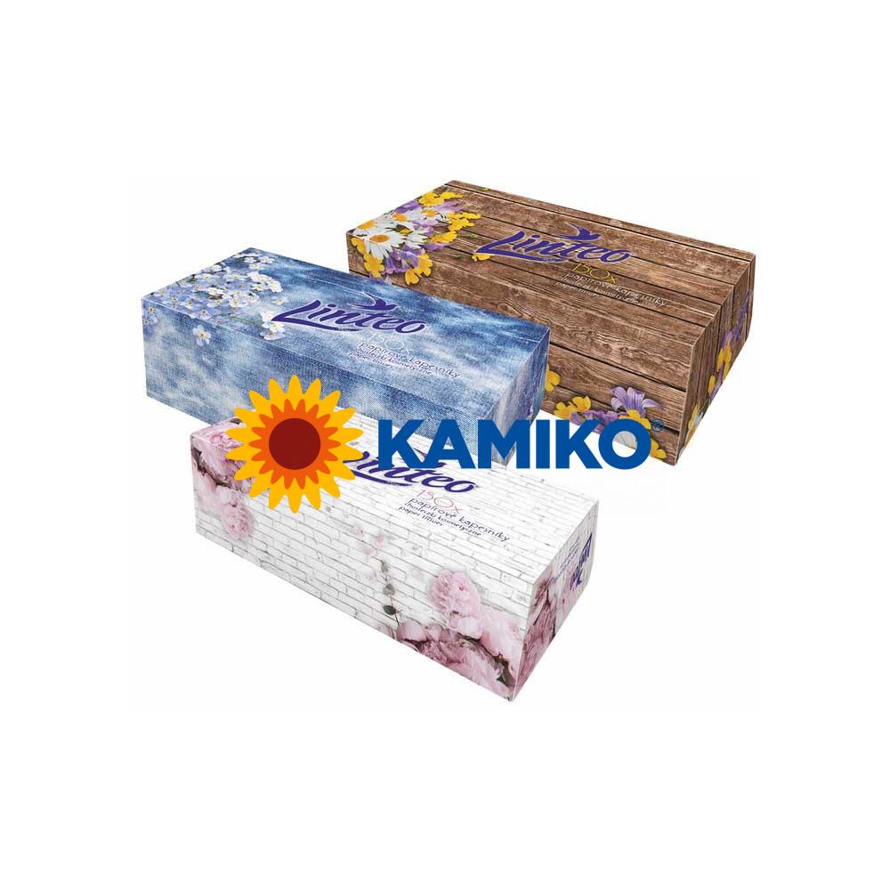 LINTEO BOX  papierové vreckovky 150 ks