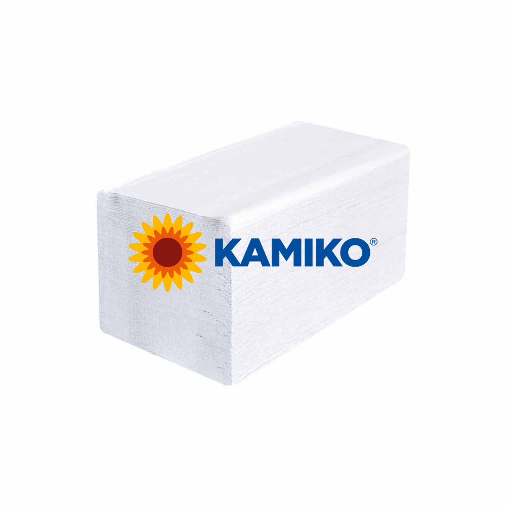 Servítky KAMIKO Premium 21 x 16 cm, 2 vrstvy, biele