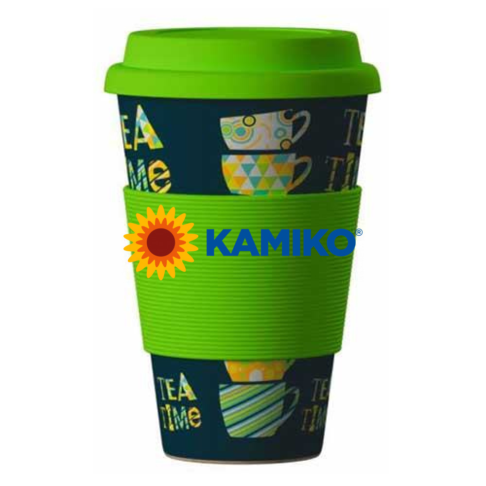 Pohár  Eco Bamboo Cup - Tea Time Green
