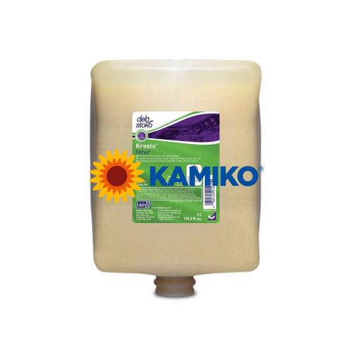 Tekutá abrazívna pasta DEB KRESTO CITRUS 4 000 ml