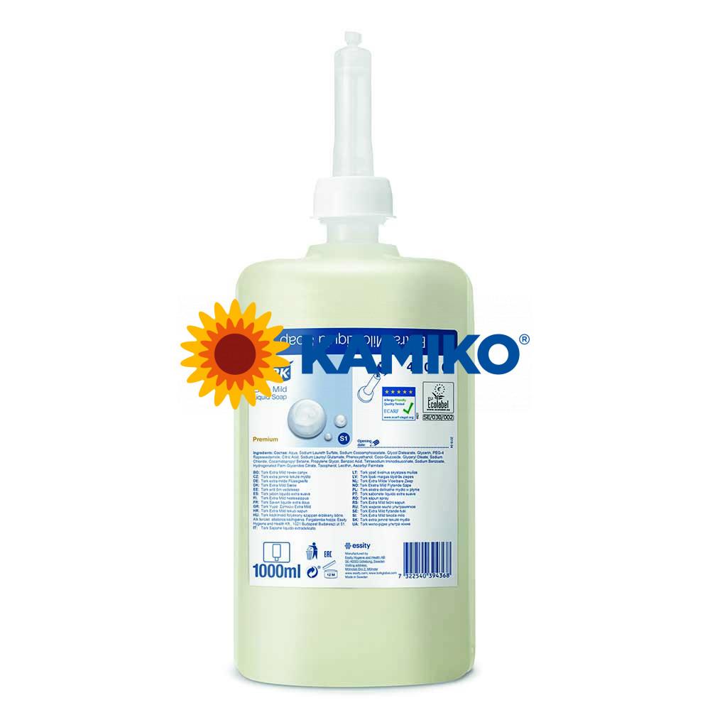 Mydlo tekuté TORK 1 000 ml, extra jemné, patróna biela