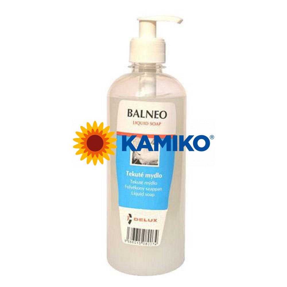 Mydlo tekuté BALNEO Med a mlieko 500 ml, s dávkovačom perleťové