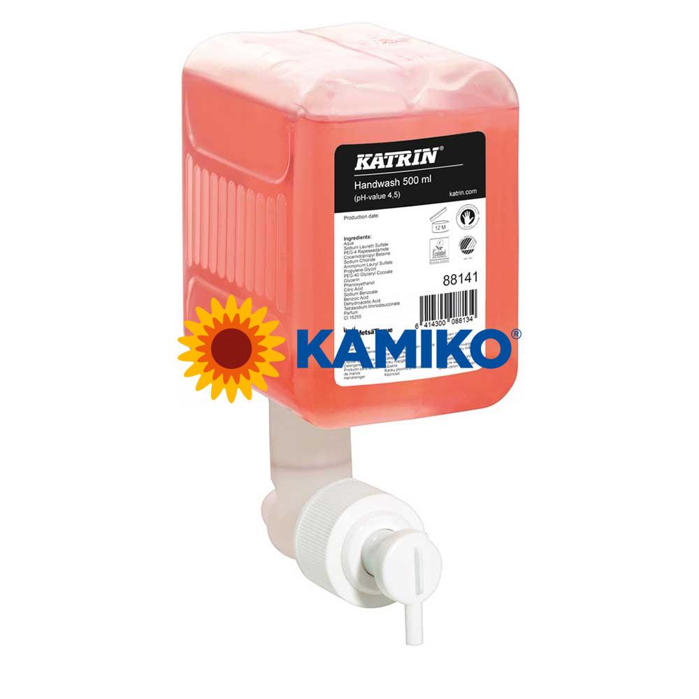 Mydlo tekuté KATRIN 500 ml, patróna ružová