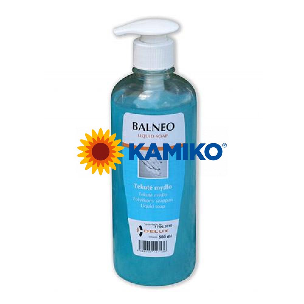 Mydlo tekuté BALNEO Fresh 500 ml, s dávkovačom modré