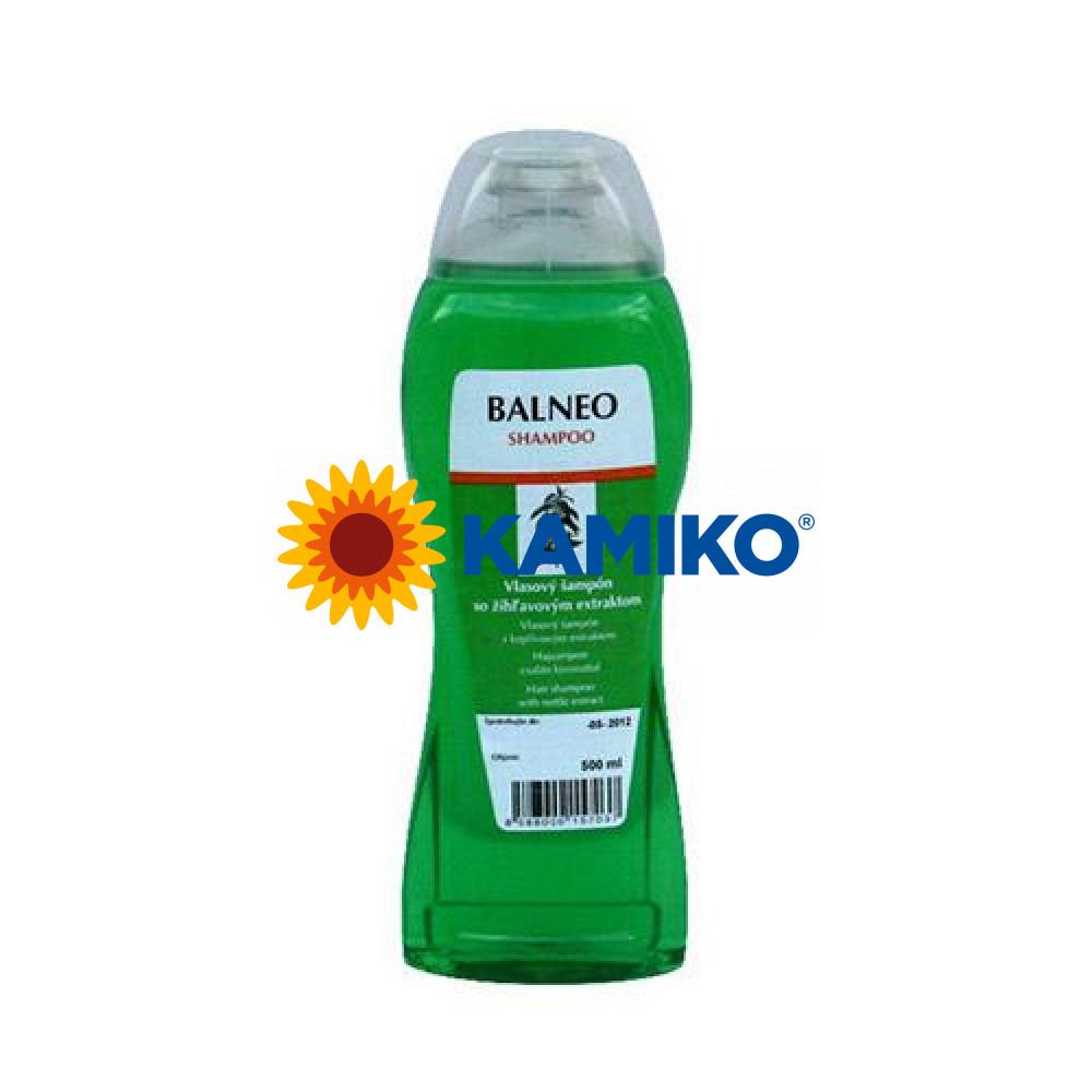 Šampón vlasový BALNEO žihľavový 500ml s pumpičkou